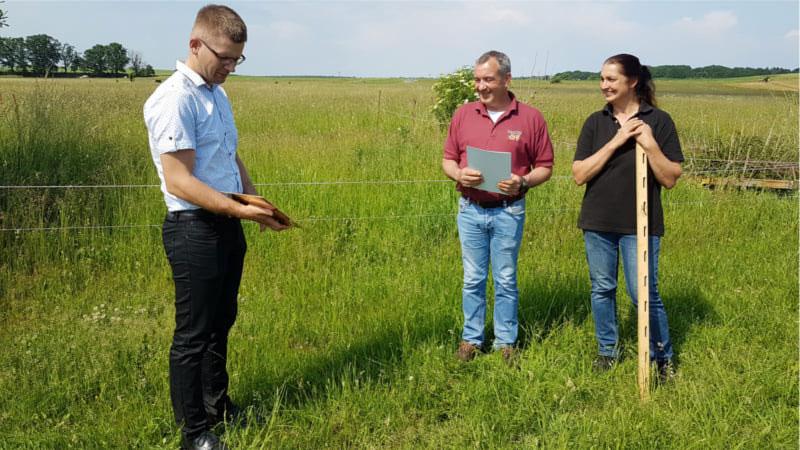 Tobias Pelz vom Landesbauernverband